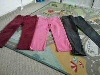 Bundle of girls trousers- bargain