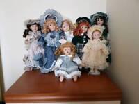 Porcelain dolls joblot
