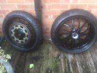 Triumph speedtriple/tiger wheels ***offers***