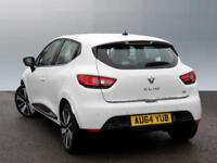 Renault Clio DYNAMIQUE S MEDIANAV DCI (white) 2014-09-19