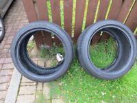Nexen N'Fura SU1 Tyres in very good condition. 275 35 R18, 275/35ZR18 99W Two tyres. 6.5mm