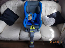 isofix carseat 9m to 4 yrs