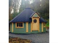 EcoCountry BBQ huts, Log cabins, Summer houses