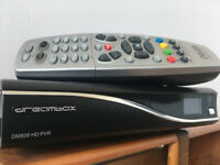 Dreambox DM800 PVR HD Linux Satellite Receiver for digital TV and Radio programs