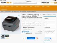 Zebra GK 420 d printer
