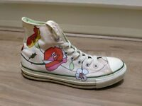Converse Ladies Hi Tops Classic Rose Floral (Pink) Style