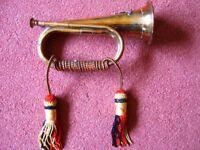 Brass bugle