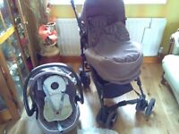 Chicco pram / pushchair and car seat