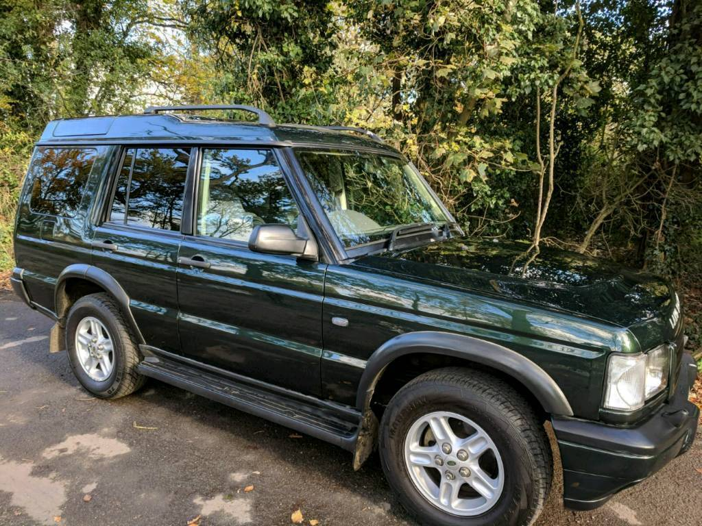 Land Rover Discovery 2 TD5 2001 5Seat manual 97k MOT June 18