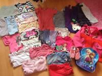 Large girls clothes bundle age 3-5