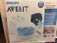 Phillips Avent bottle feeding essentials set brand new