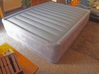 Intex inflatable queen size bed
