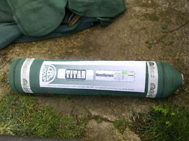 Shade netting/windbreak netting. New roll and used. 1m wide with eyelets. Bargain £15 the lot