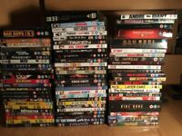 Job Lot DVD's - Wide Range of DVD's - Very Popular Titles (See Image)
