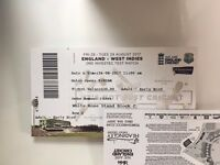 3 England tickets V West Indies Day 2 (£20 each) - will split