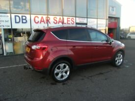 DIESEL !!! 2009 58 FORD KUGA 2.0 TITANIUM TDCI AWD 5D 134 BHP *** GUARANTEED FINANCE ** PART EX WEL