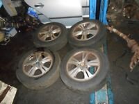 Ford Galaxy Alloys Wheel Set 16 Inch Galaxy MK3 200-2010 Alloy Wheels 215/60 R16