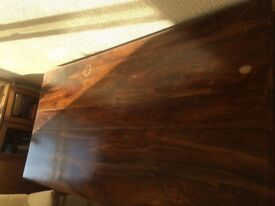 Large solid wood Thacket table
