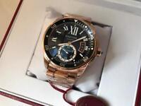 Swiss Cartier Calibre Automatic Watch