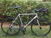 Cannondale road bike CAADX shimano 105