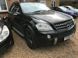 Mercedes ml 63 AMG 4-MATIC auto 2006/56 one owner fsh, p-ex welcome.aa/rac welcome