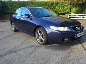 Honda Accord 2006(Blue)2.0 Ctdi Executive With Builtin SAT NAVIGATION