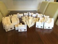 New 10 x boxes of boofle wedding biodegradeable confetti Bulk buy job lot retro church box favours
