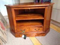 TV cabinet - Brand new, mahogany £80 ono