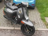 Scomadi TL125 Carbon Scooter