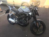 2016 YAMAHA MT125 ABS CAT C 1 OWNER FROM NEW