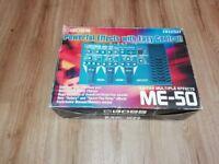 Boss ME-50 Guitar Multiple Effects + PSA-240 Power Supply