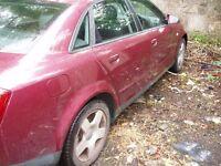 Audi a4 2.0 FSI petrol 2003 for spares or repair