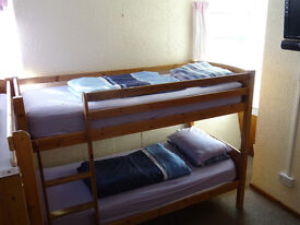 Short term accommodation this winter
