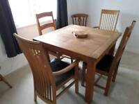 Belgica oak dining table 499 new