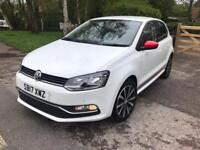 2017 VW Polo 1.0 Beats (s/s) 5dr Low Mileage 10644 1 year mot Full service history
