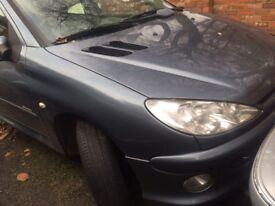 PEUGEOT 206 1.4 PETROL 2005 BREAKING FOR SPARES AND REPAIRS