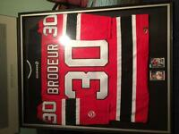 Martin Broduer signed jersey and rookie cards