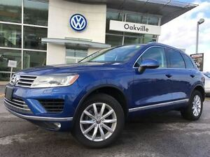 2016 Volkswagen Touareg SL/SUNROOF/HITCH/LIKE NEW!