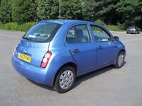 nissan micra automatic, low mileage, hpi clear , service history