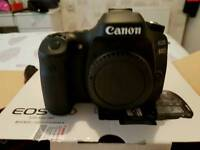 Canon 80d camera body only