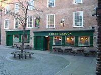 Green Dragon, 8 Finkle Street, Stockton on Tees. Live-in Joint Management Couple Required