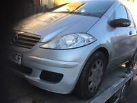 57 MERCEDES A160 CDI MANUAL THIS CARS FOR PARTS FOR ANY PARTS CALL ON