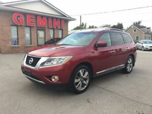 2014 Nissan Pathfinder Platinum 4wd Leather Navi Camera