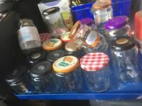 Jam jars -free