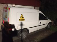 Vauxhall combo with dog unit signs