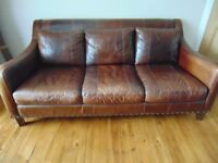 Leather Sofas 3 seater and 2 seater