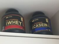 Gold Standard Optimum Protien Whey and Casein