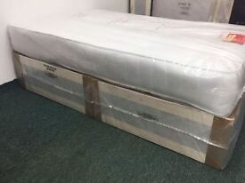 **14-DAY MONEY BACK GUARANTEE!** Single Full Orthopaedic Bed and Mattress - SAME DAY DELIVERY!