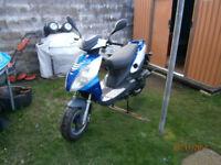 Jonway scooter, 50cc, 2014