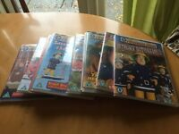 Selection of Fireman Sam DVDs to collect